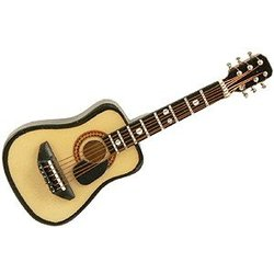 Acoustic Guitar with Pick Guard Magnet