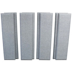 """Primacoustic Broadway Acoustic Control Column Panel - 3"""", Grey, 8 Pack"""