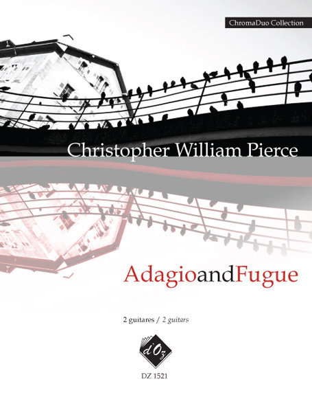View larger image of Adagio And Fugue (Pierce) - Guitar Duet