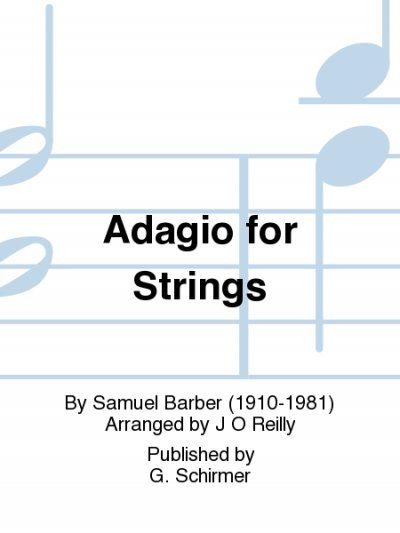 View larger image of Adagio for Strings - Woodwind Ensemble