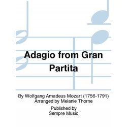 Adagio from Gran Partita - Clarinet Choir