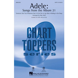 Adele: Songs from the Album 21, SATB Parts