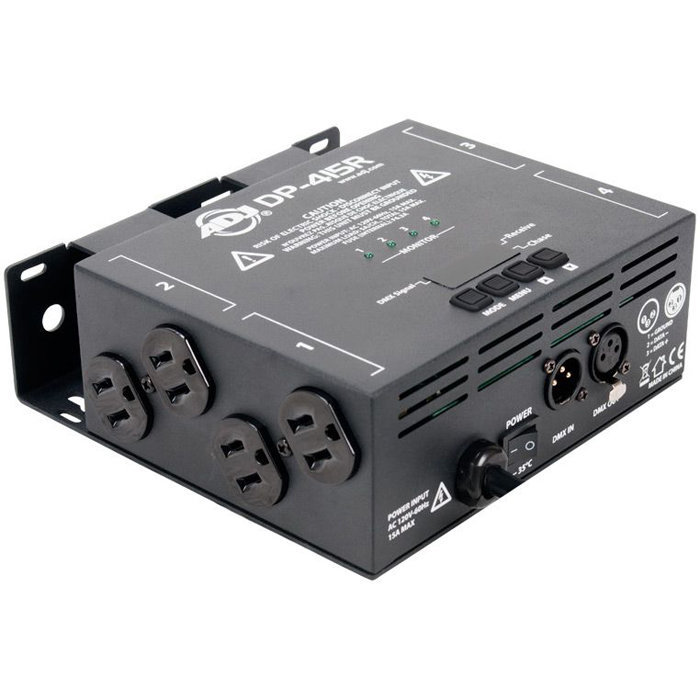 View larger image of ADJ DP-415R 4-Channel Dimmer/Switch Pack