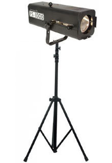 View larger image of ADJ FS-1000 Followspot Halogen Lamp with Stand