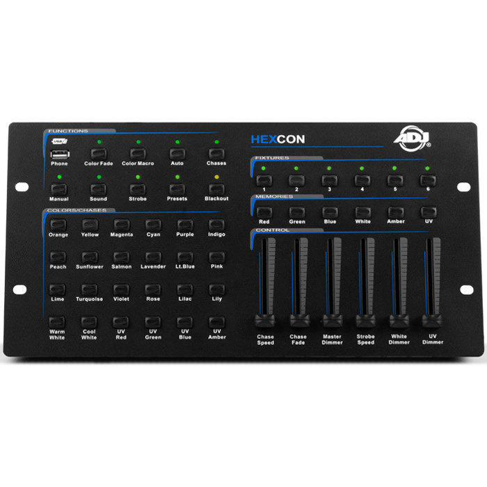 View larger image of ADJ Hexcon 36-Channel DMX Controller