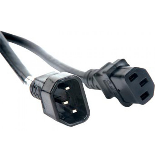 View larger image of ADJ IEC Power Link Cable - 10', Black