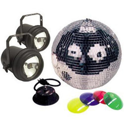 ADJ M-502L Mirror Ball Package - 12