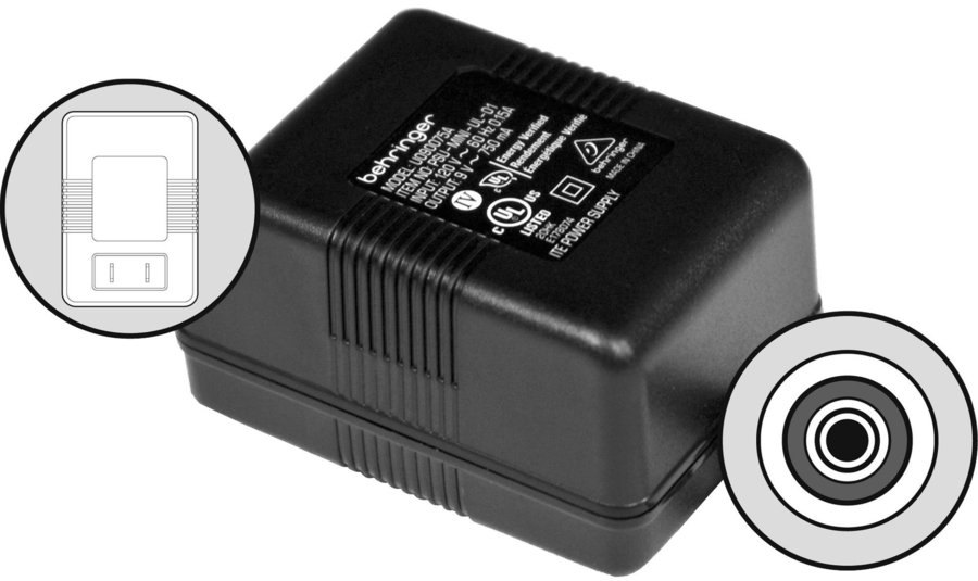 View larger image of Behringer PSU11-UL Replacement Power Supply for NOX101