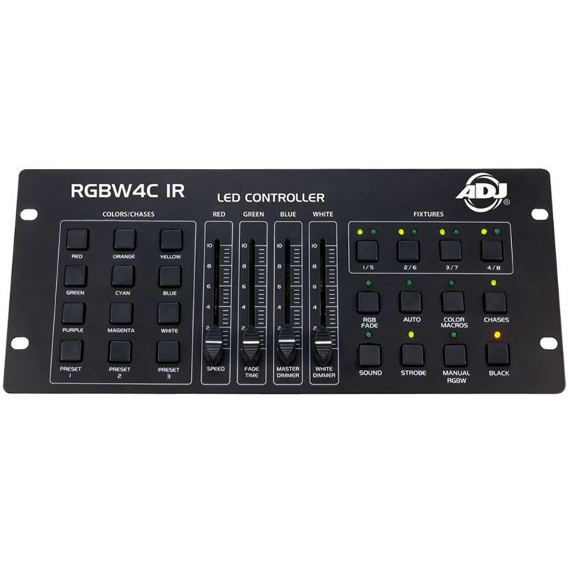View larger image of ADJ RGBW4C-IR 32-Channel DMX Controller