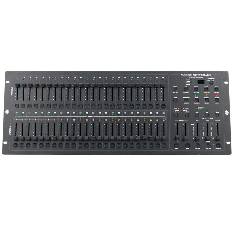 View larger image of ADJ Scene Setter 48-Channel Dimming Console
