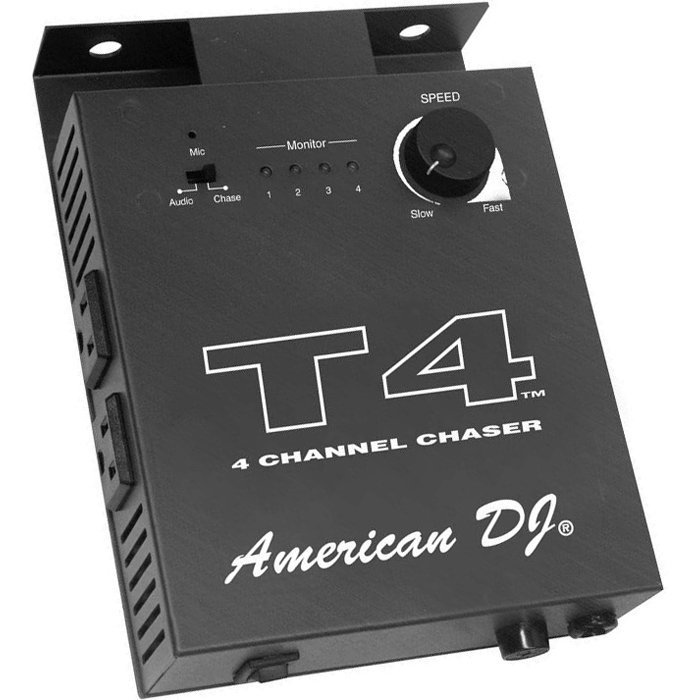 View larger image of ADJ T4 4-Channel Chase Conrtoller