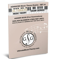 Advanced Music Theory Exams Set 1 Answer Book