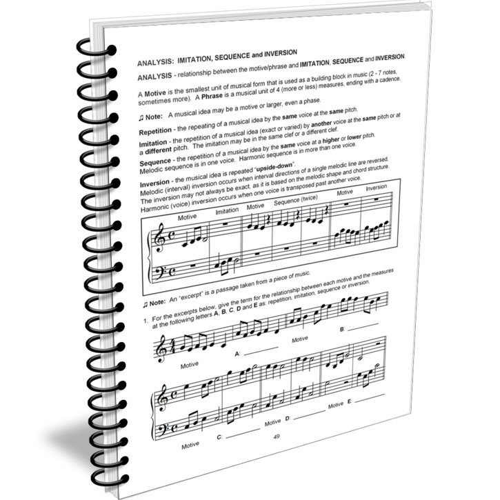 View larger image of Advanced Rudiments Workbook