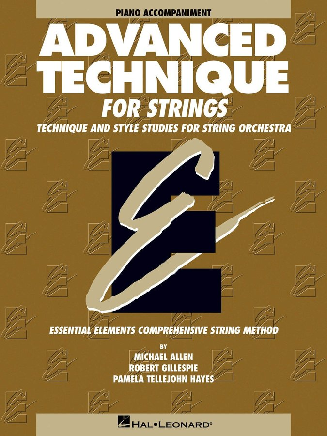 View larger image of Advanced Technique for Strings (Original Series) - Piano Accompaniment