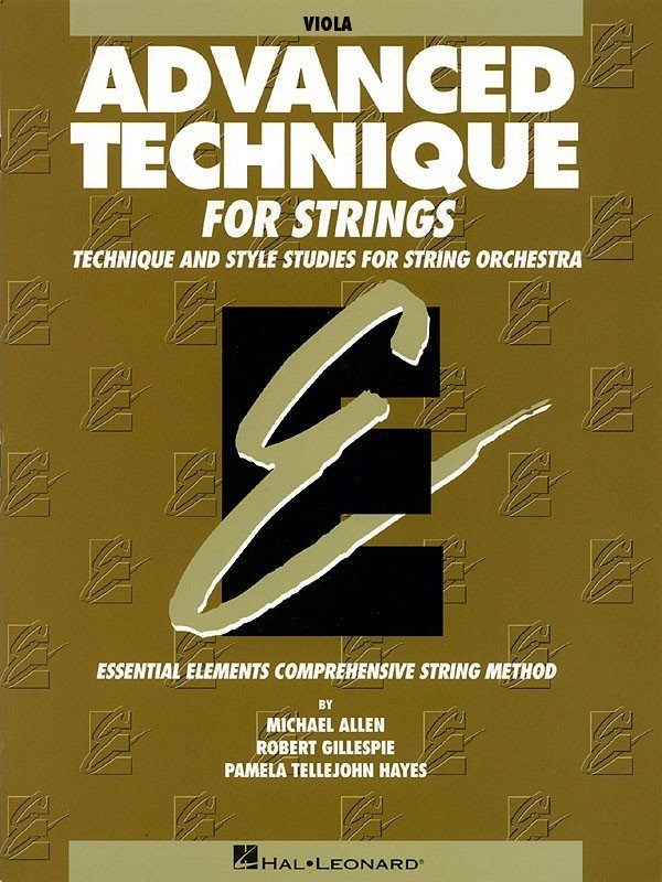 View larger image of Advanced Technique for Strings (Original Series) - Viola