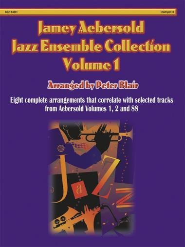 View larger image of Aebersold Jazz Ensemble Vol 1 - Trumpet 3