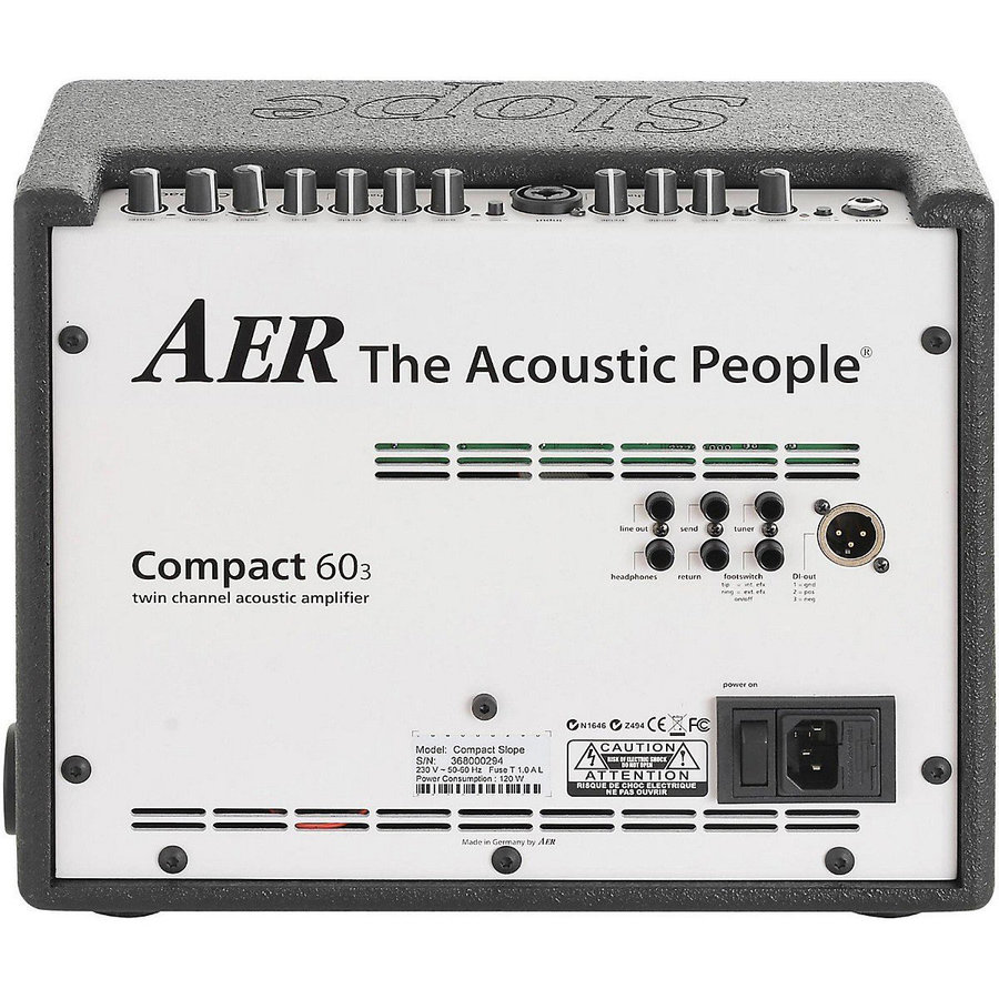 View larger image of AER Compact 60 Slope Acoustic Guitar Combo Amp
