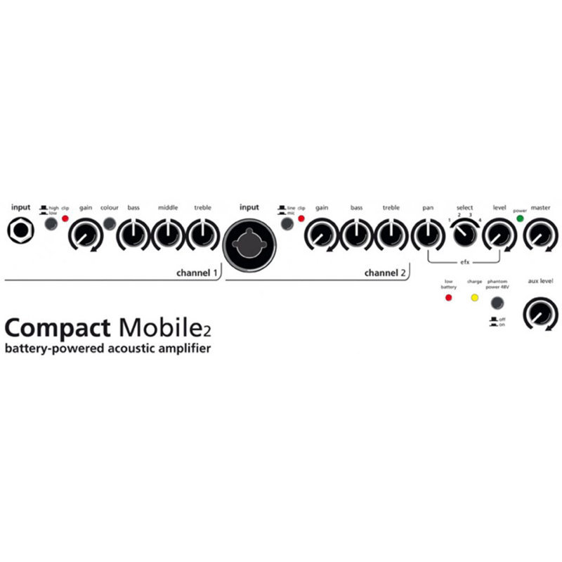 View larger image of AER Compact Mobile Acoustic Guitar Amplifier Combo