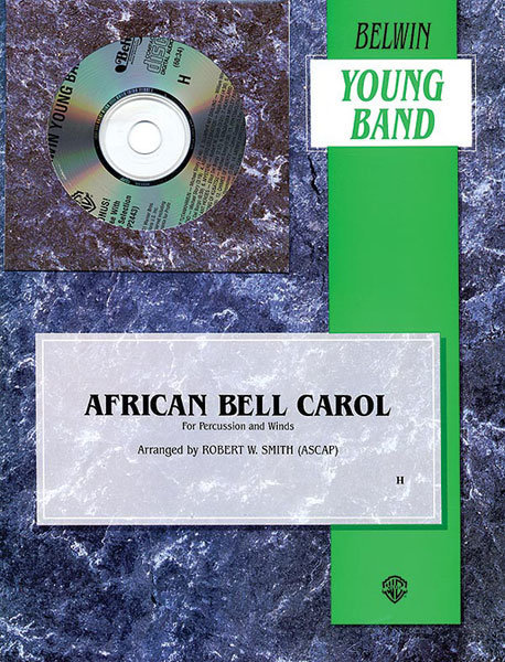View larger image of African Bell Carol (Percussion and Winds) - Score & Parts, Grade 2