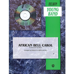 African Bell Carol (Percussion and Winds) - Score & Parts, Grade 2