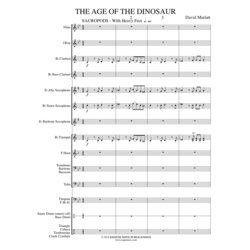 Age of the Dinosaur - Score & Parts, Grade 0.5