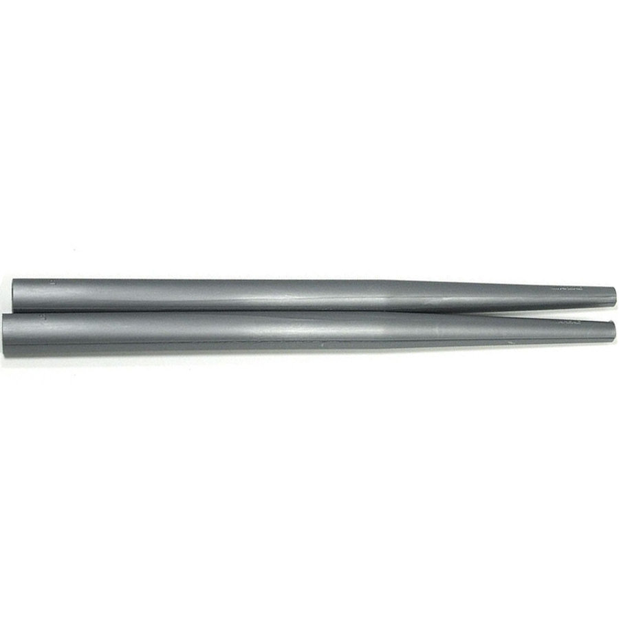 View larger image of Ahead Short Taper Drumstick Covers - Silver, Pair