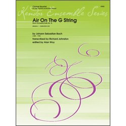 Air On The G String (from Orchestral Suite No. 3) - Clarinet Quartet