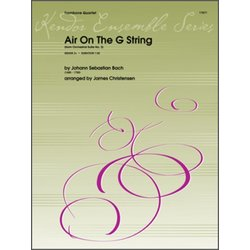 Air On The G String (from Orchestral Suite No.3) - Trombone Quartet