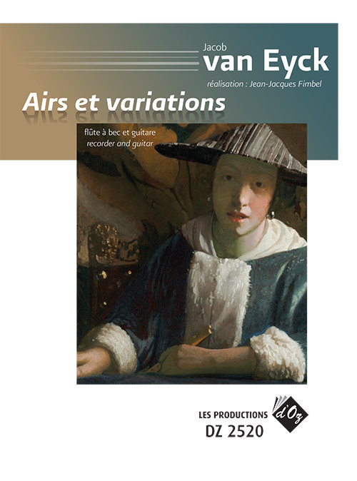 View larger image of Airs Et Variations (Eyck) - Guitar & Flute Duet