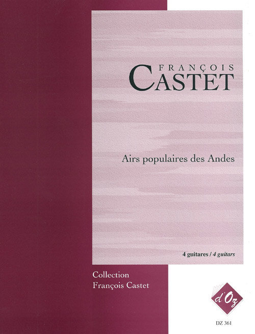 View larger image of Airs Populaires Des Andes (Castet) - Guitar Trio