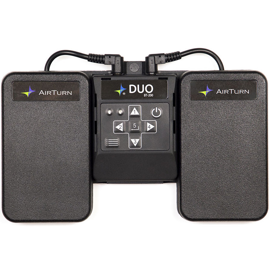 View larger image of AirTurn DUO 200 Bluetooth Page Turner