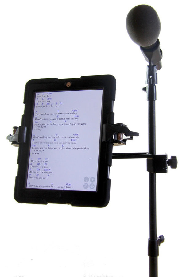 View larger image of AirTurn MANOS Tablet Holder with Side Mount
