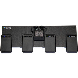 AirTurn QUAD 4-Pedal Bluetooth Page Turner