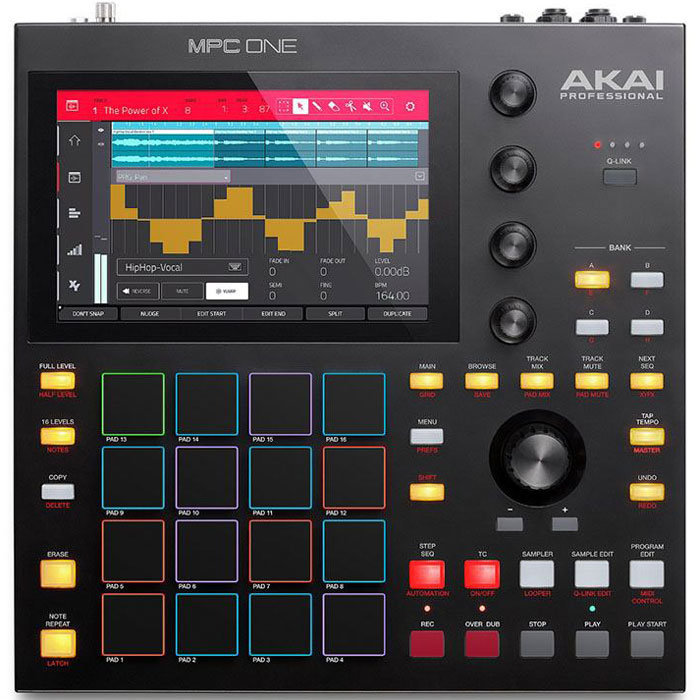 View larger image of Akai Professional MPC One Standalone Sampler