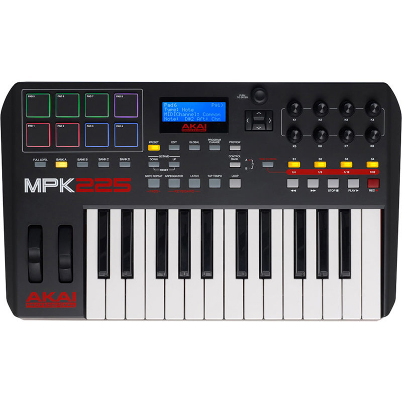 View larger image of Akai Professional MPK225 25-Key USB MIDI Controller