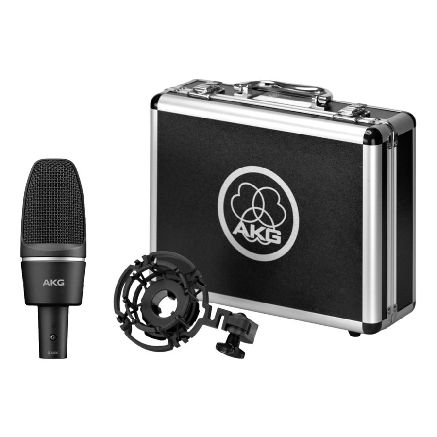 View larger image of AKG C3000 High Performance Condenser Microphone