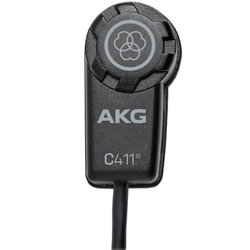 AKG C411L Minature Condenser Pickup with XLR Connector
