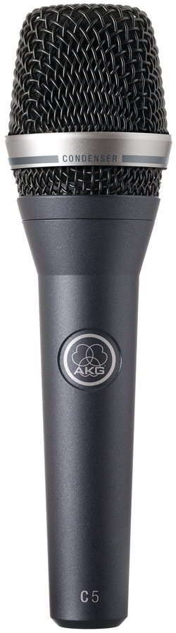 View larger image of AKG C5 Condenser Microhone with PB1000 and SA45
