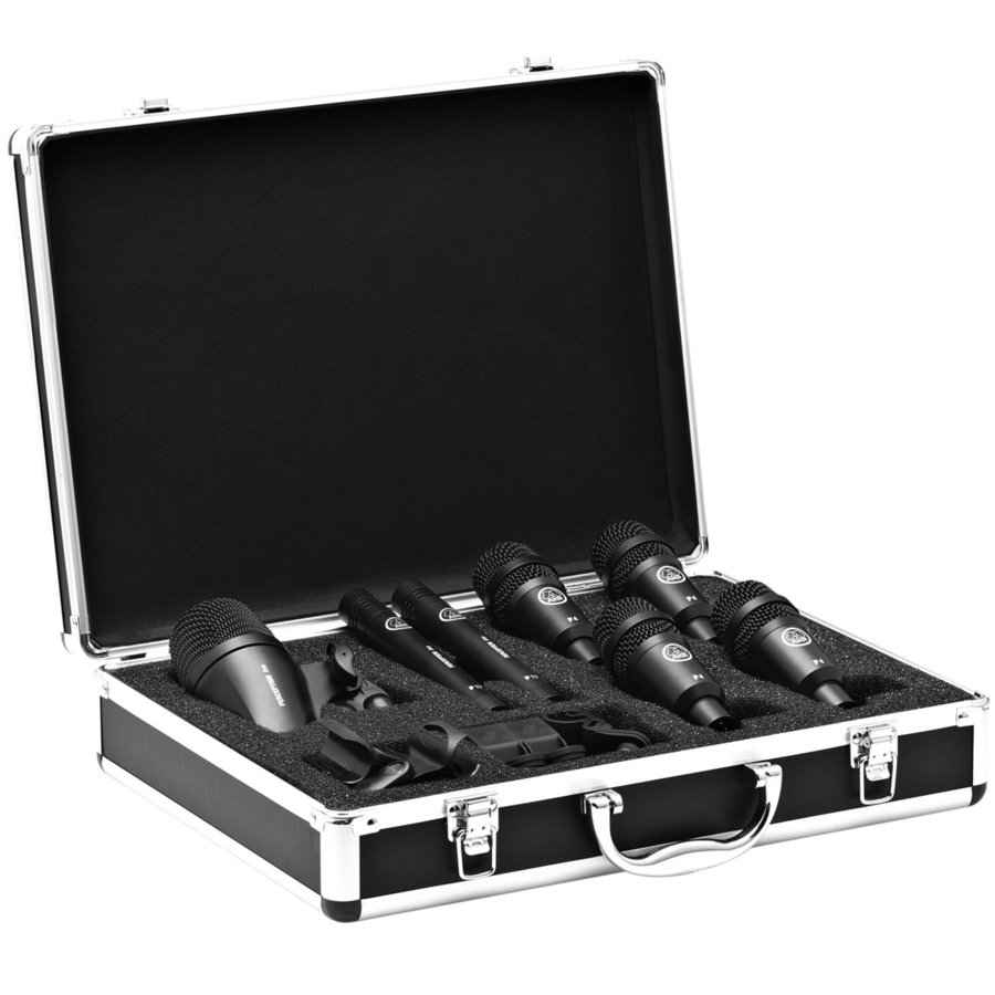 View larger image of AKG Drum Set Session I High Performance Microphone Set