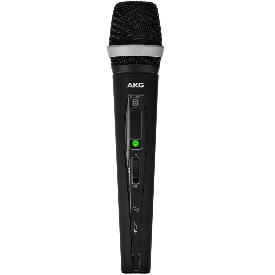 View larger image of AKG HT420 Professional Wireless Handheld Microphone Transmitter