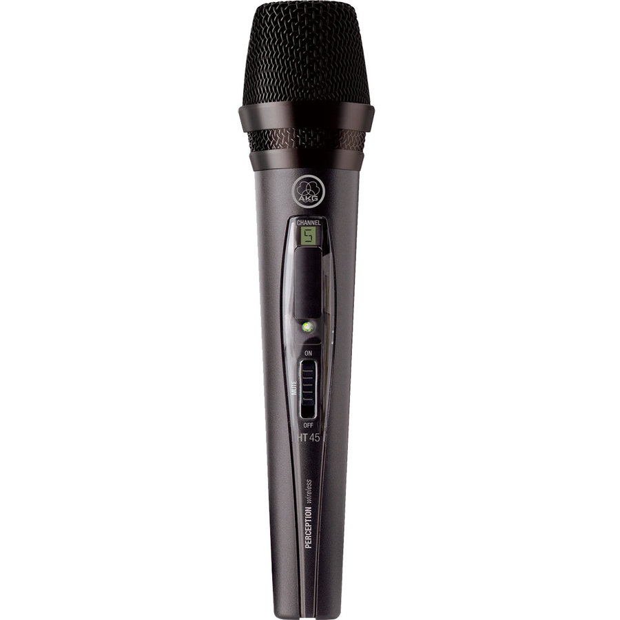 View larger image of AKG HT45 High-Performance Wireless Microphone - Band A