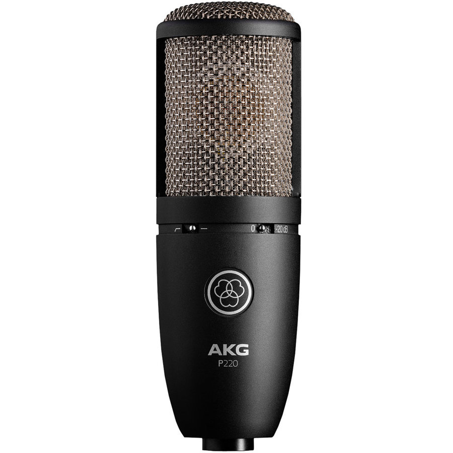View larger image of AKG P220 Large-Diaphragam Condenser Microphone