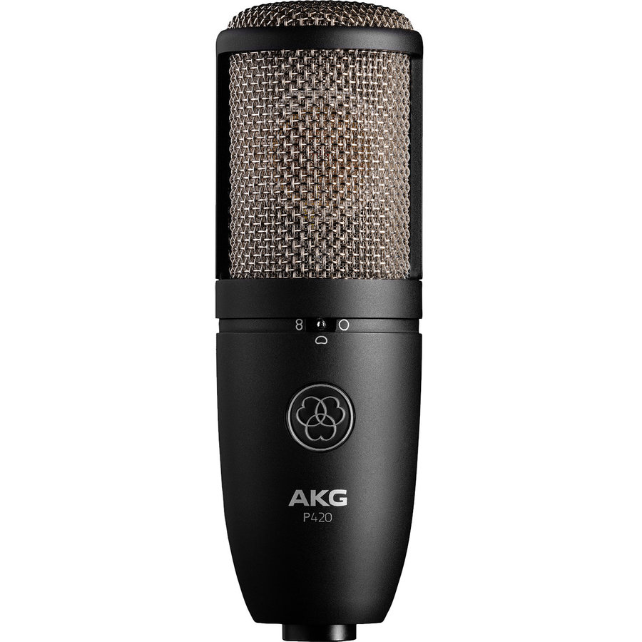 View larger image of AKG P420 Multi-Pattern Condenser Microphone