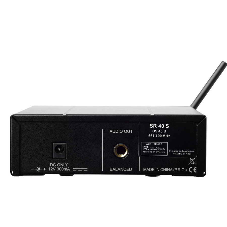 View larger image of AKG WMS40 Mini US25C Wireless Microphone Set