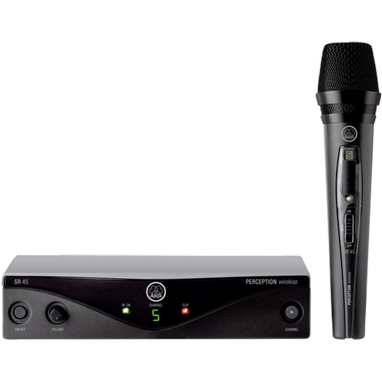 View larger image of AKG WMS45 Perception Wireless Vocal Set - Band A