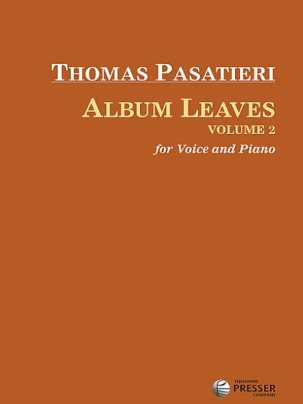 View larger image of Album Leaves Volume 2 - Voice and Piano