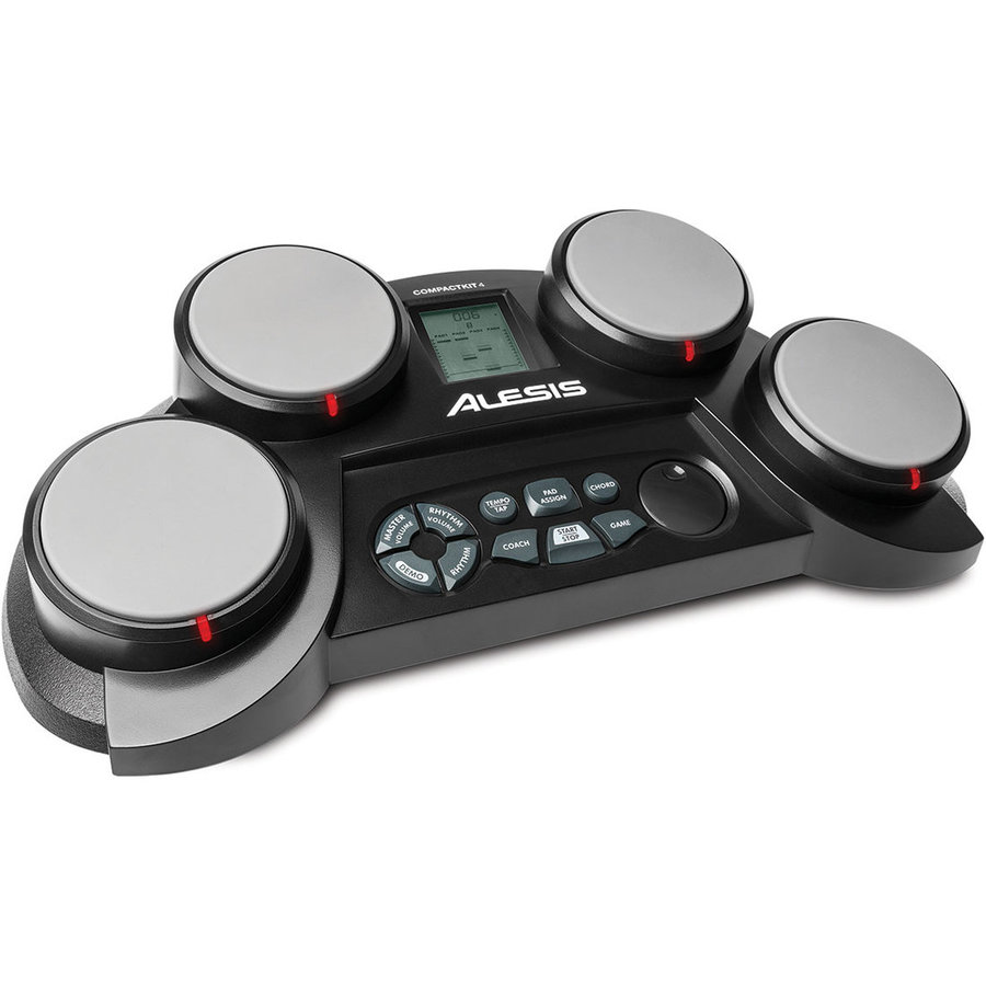 View larger image of Alesis CompactKit 4 Portable Tabletop Drum Kit