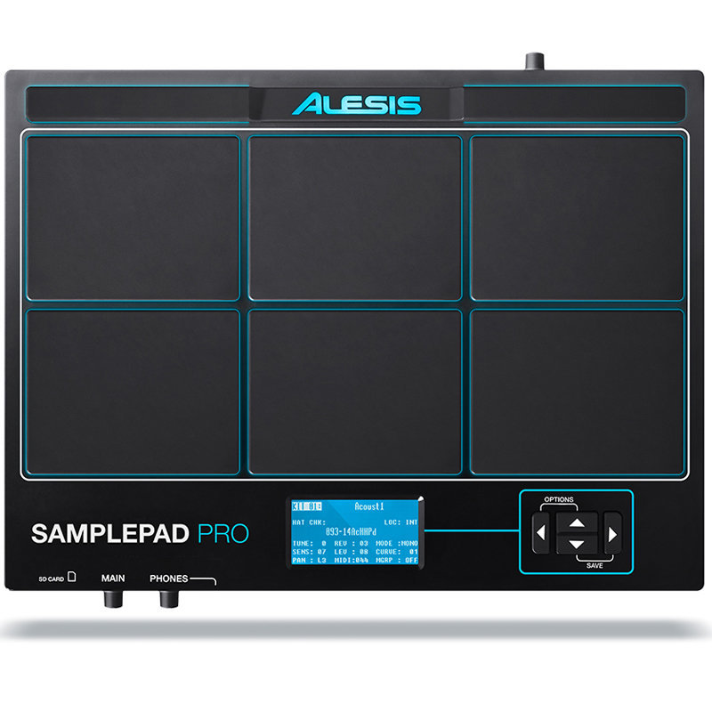 View larger image of Alesis Samplepad Pro 8-Pad Percussion and Sample-Triggering Instrument