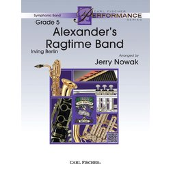 Alexanders Ragtime Band - Score & Parts, Grade 4
