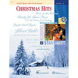 Alfred's Basic Adult Piano Course Christmas Hits, Book 1